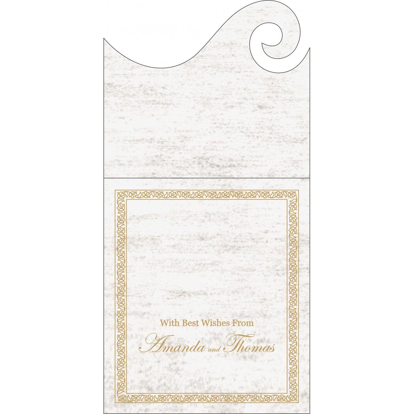 Money Envelopes : ME-8211G - 123WeddingCards