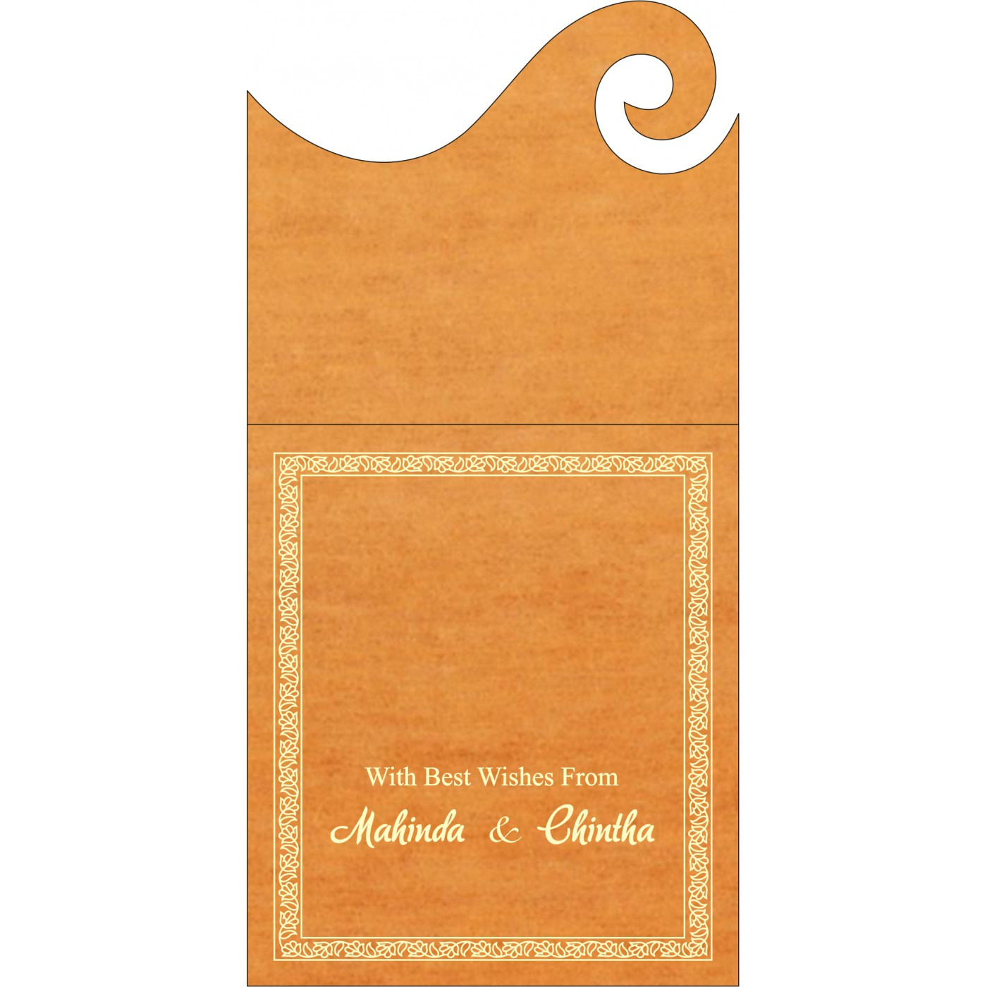 Money Envelopes : ME-8211L - 123WeddingCards