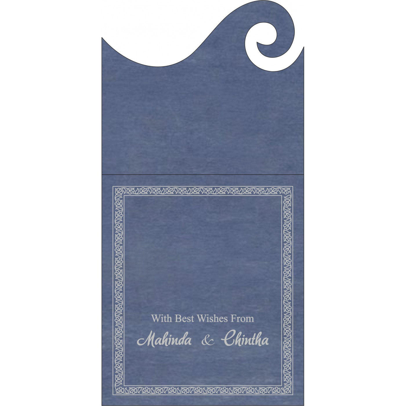 Money Envelopes : ME-8211P - 123WeddingCards