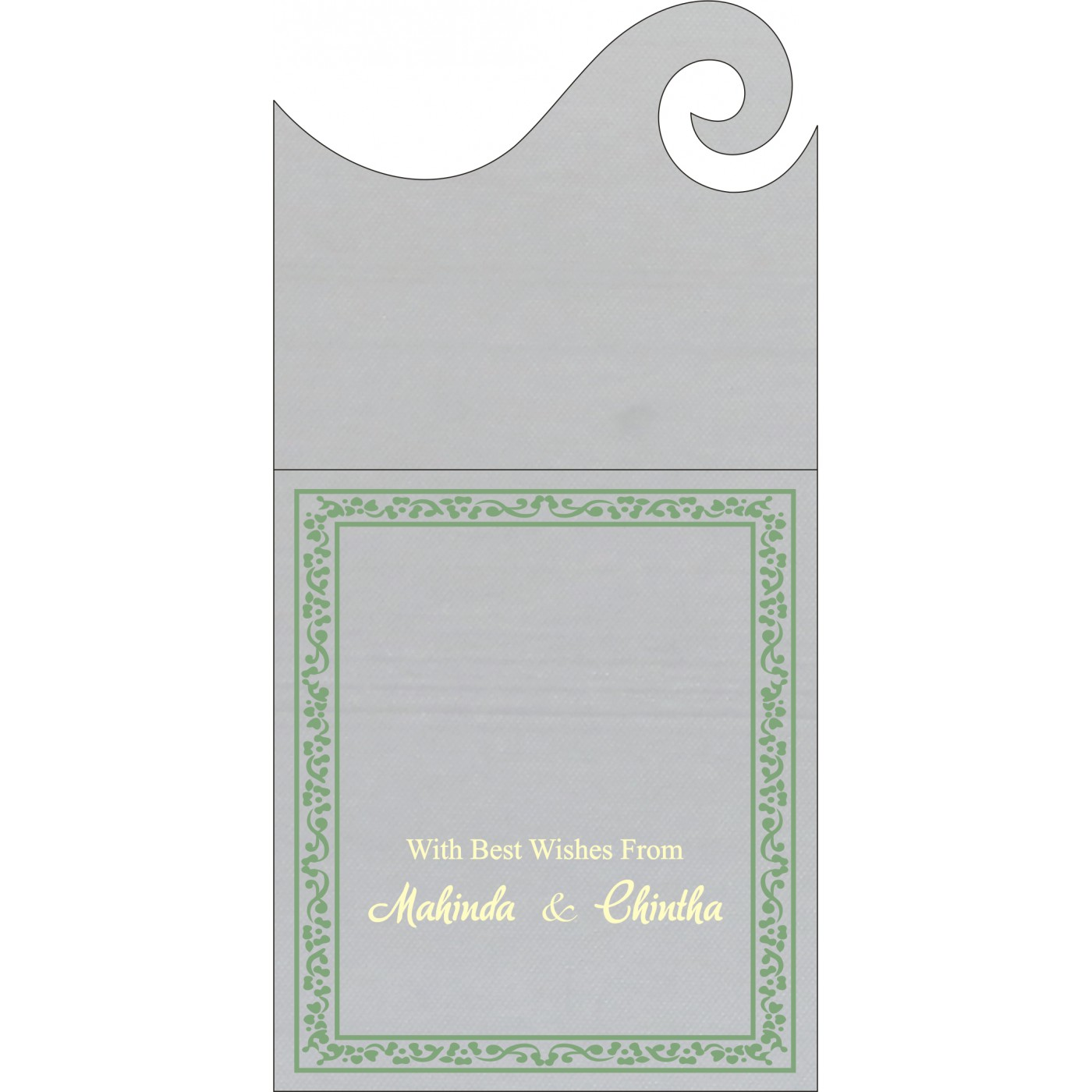 Money Envelopes : ME-8214P - 123WeddingCards
