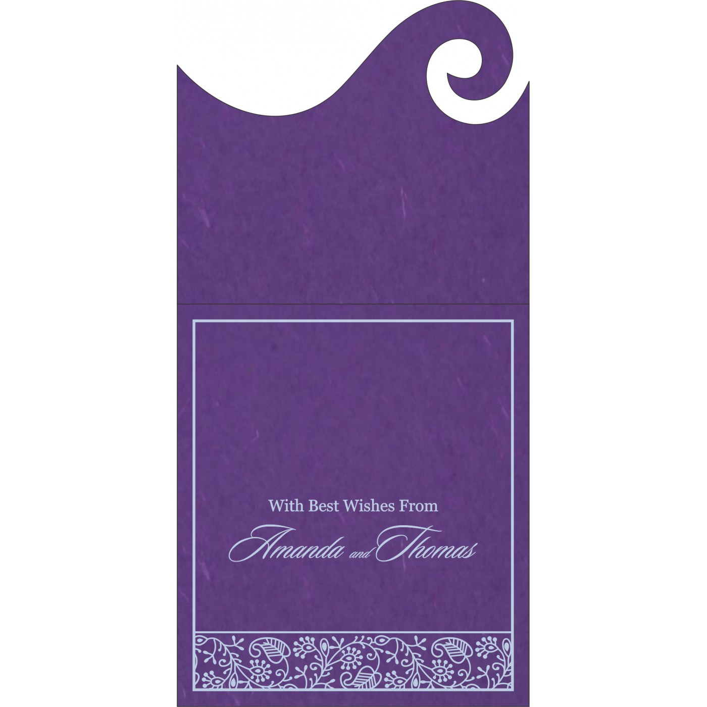 Money Envelopes : ME-8215G - 123WeddingCards