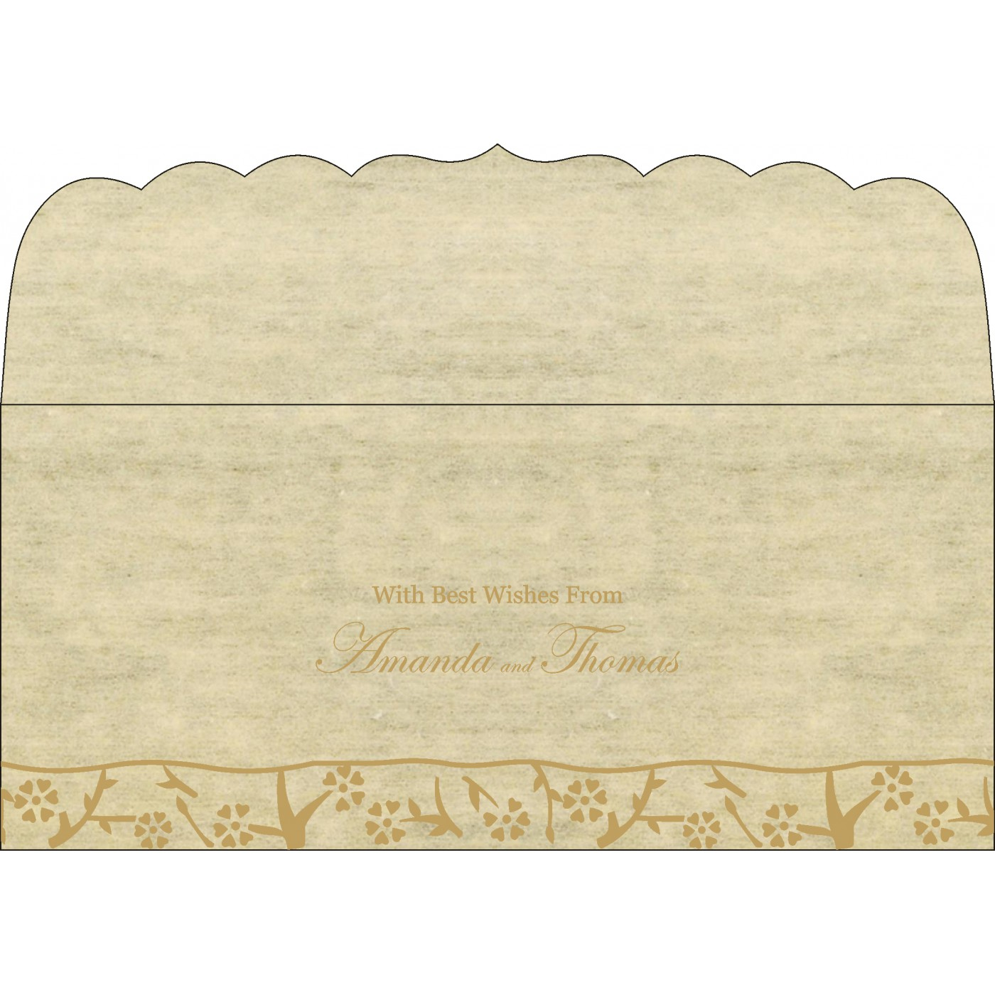 Money Envelopes : ME-8216A - 123WeddingCards