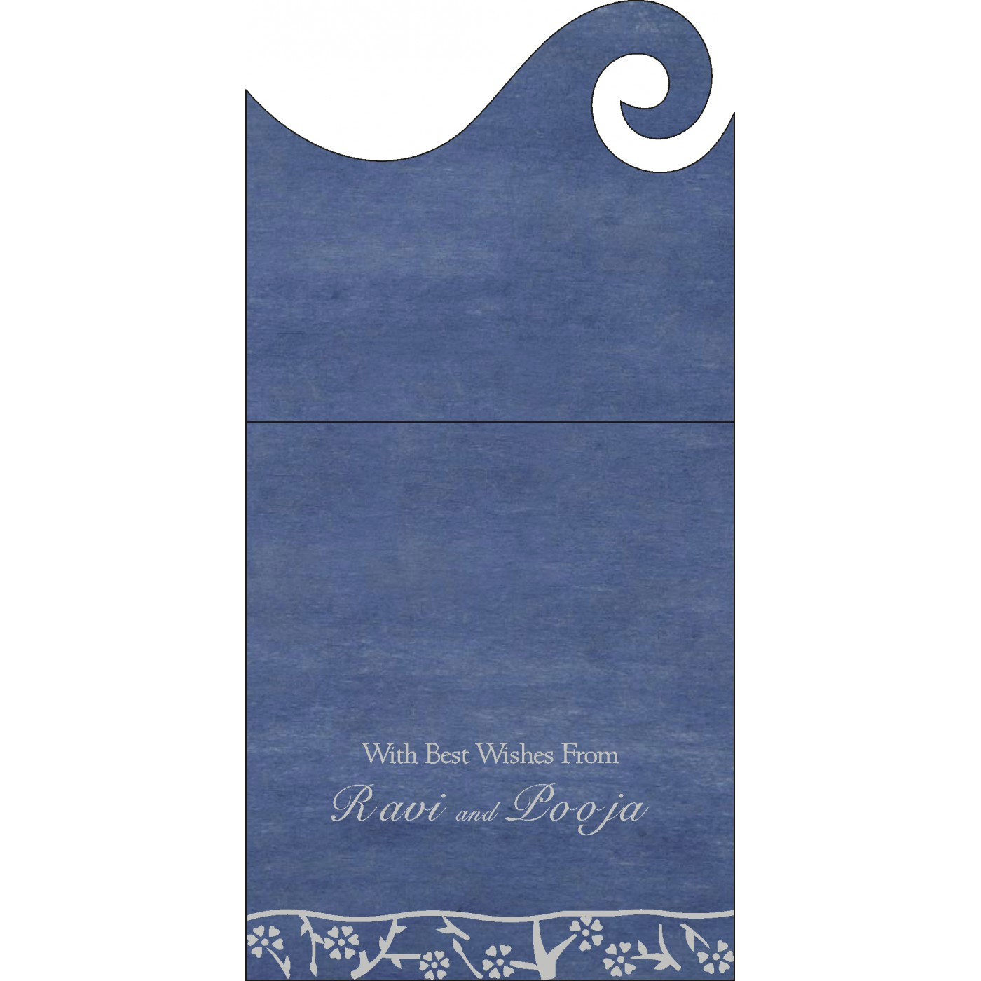 Money Envelopes : ME-8216D - 123WeddingCards