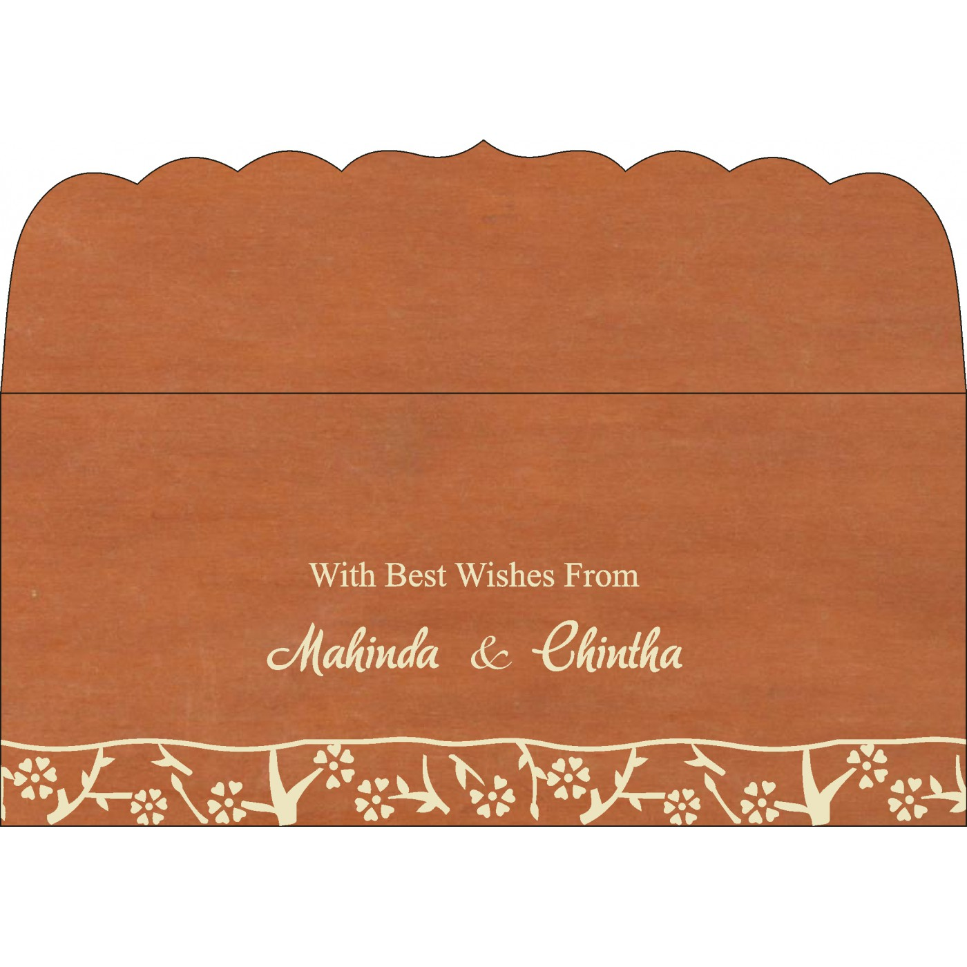 Money Envelopes : ME-8216E - 123WeddingCards