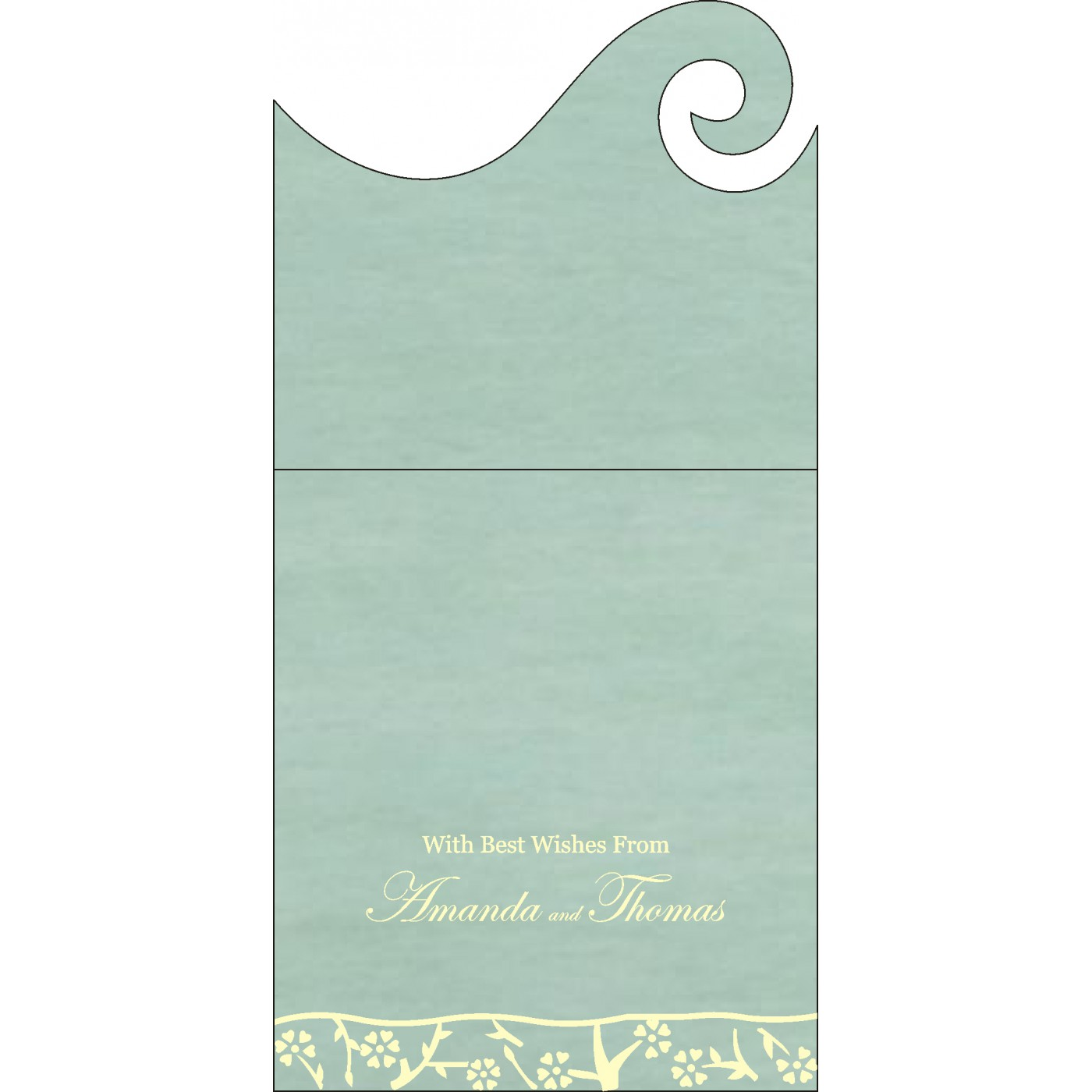 Money Envelopes : ME-8216F - 123WeddingCards