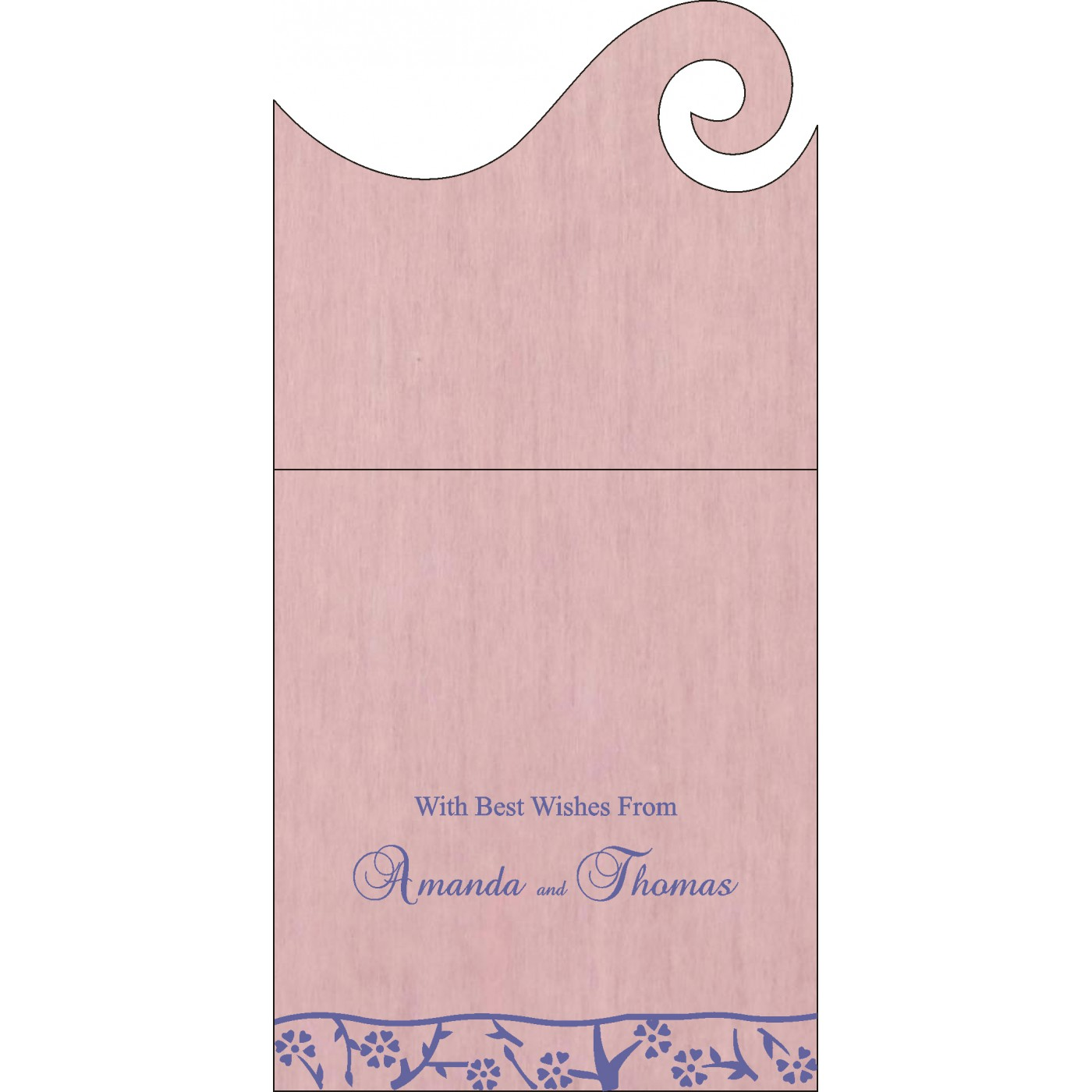 Money Envelopes : ME-8216I - 123WeddingCards