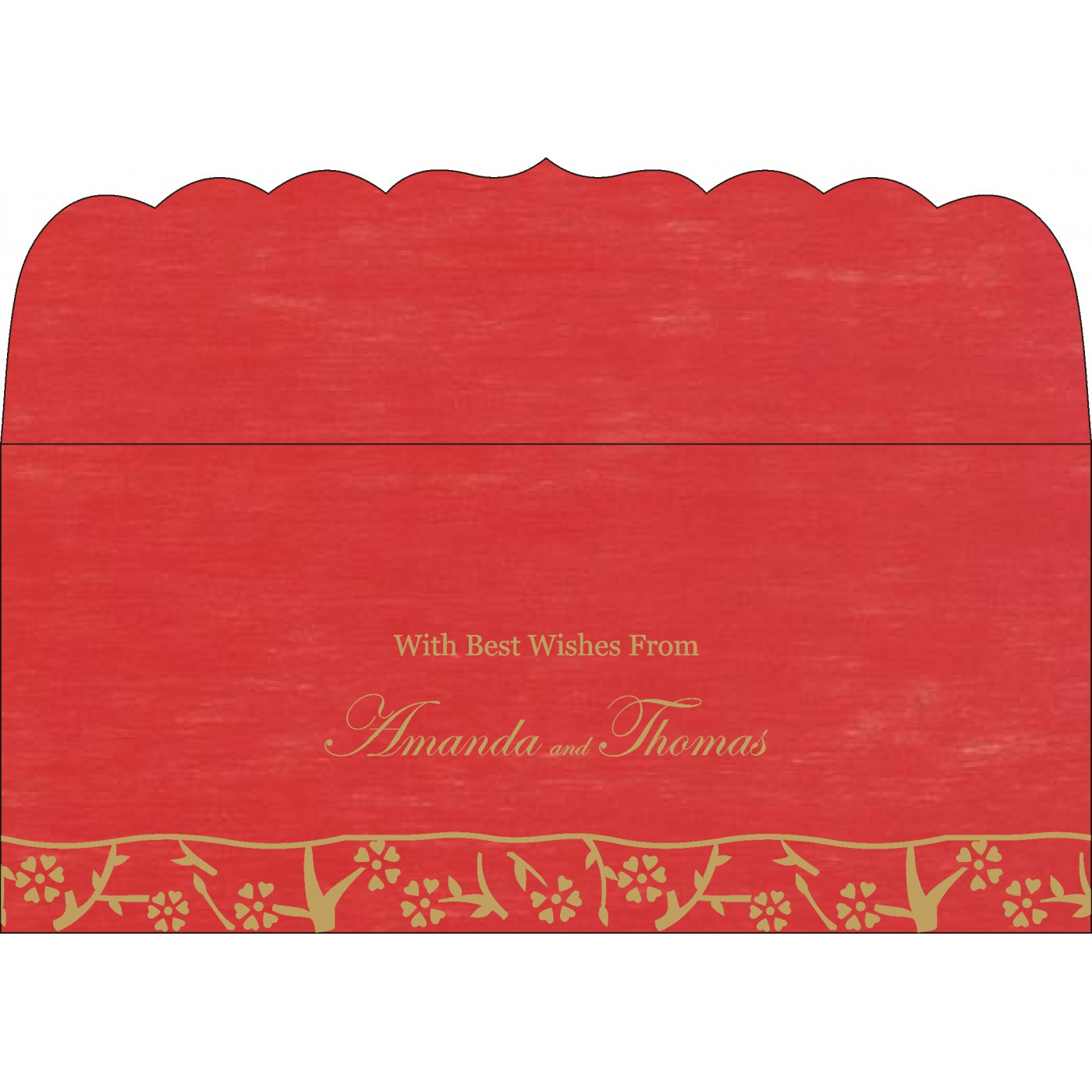 Money Envelopes : ME-8216L - 123WeddingCards