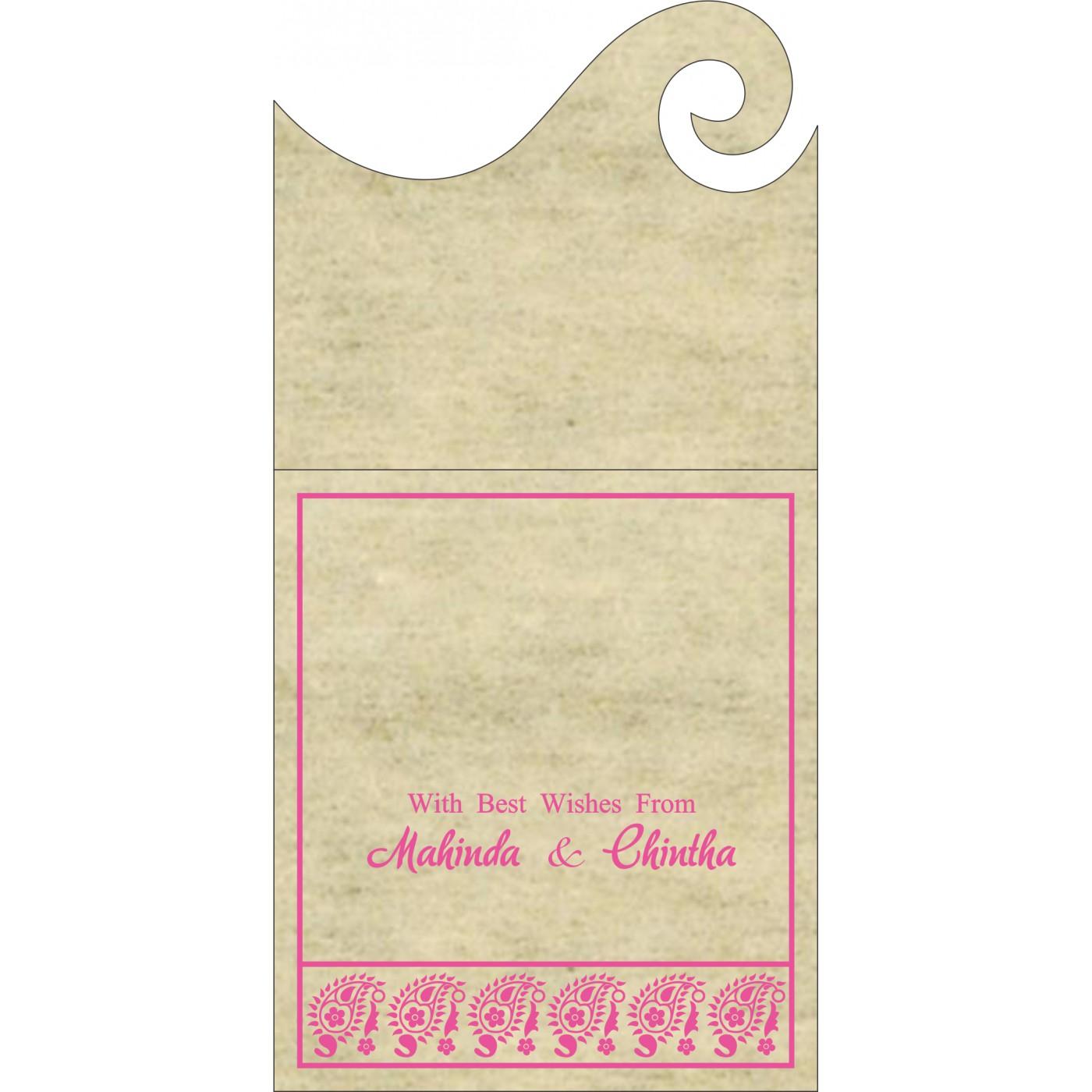 Money Envelopes : ME-8218F - 123WeddingCards