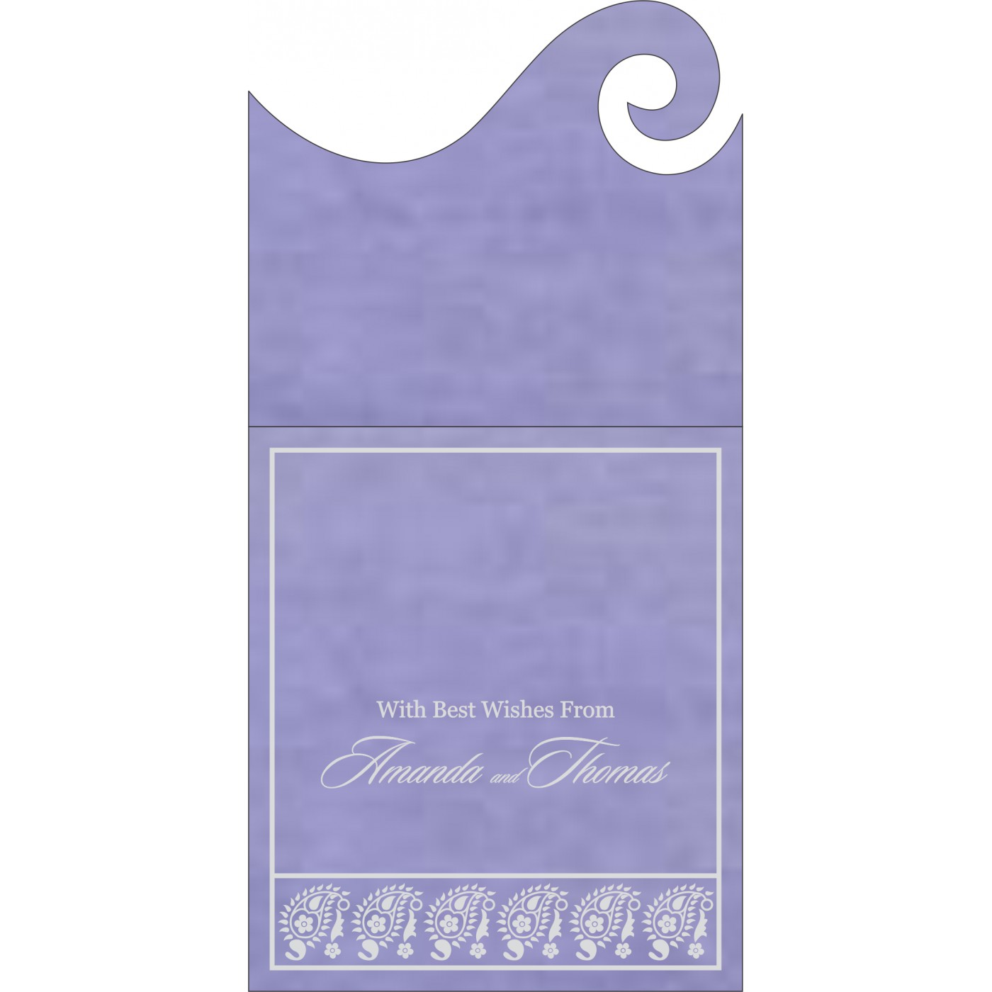 Money Envelopes : ME-8218H - 123WeddingCards