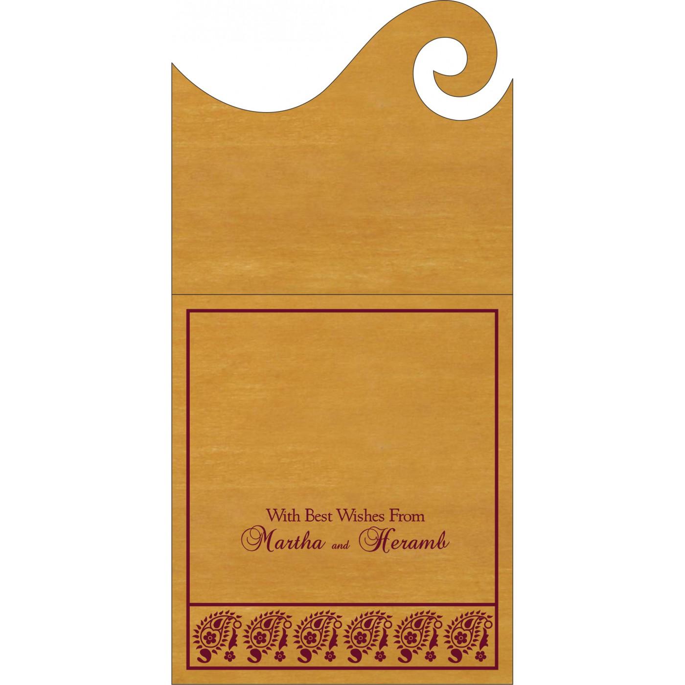 Money Envelopes : ME-8218N - 123WeddingCards