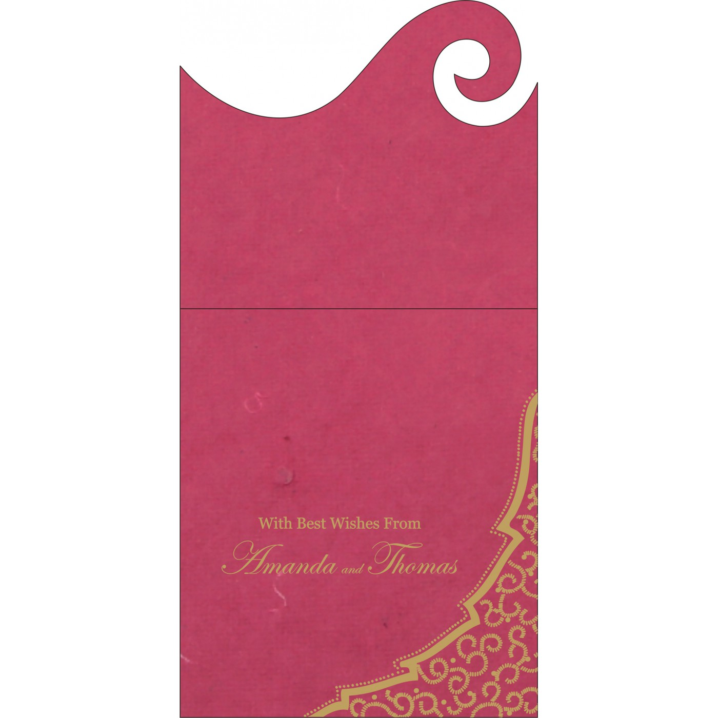 Money Envelopes : ME-8219F - 123WeddingCards