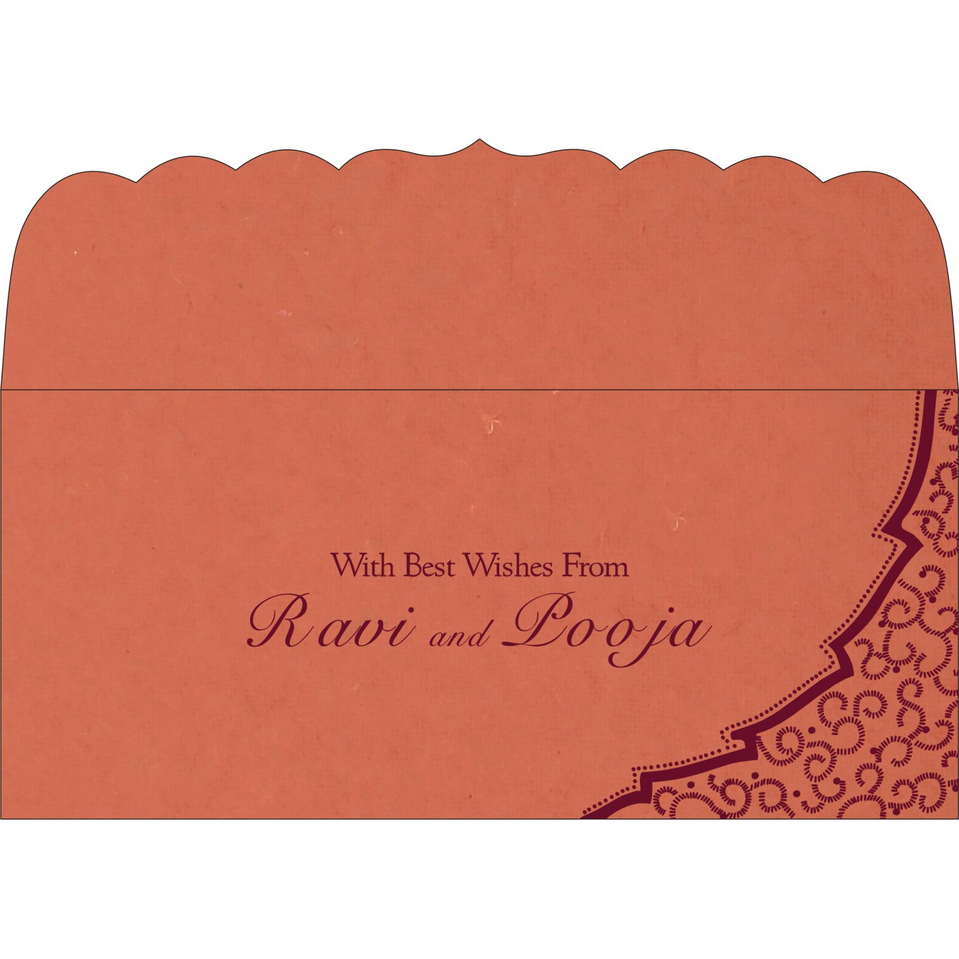 Money Envelopes : ME-8219I - 123WeddingCards