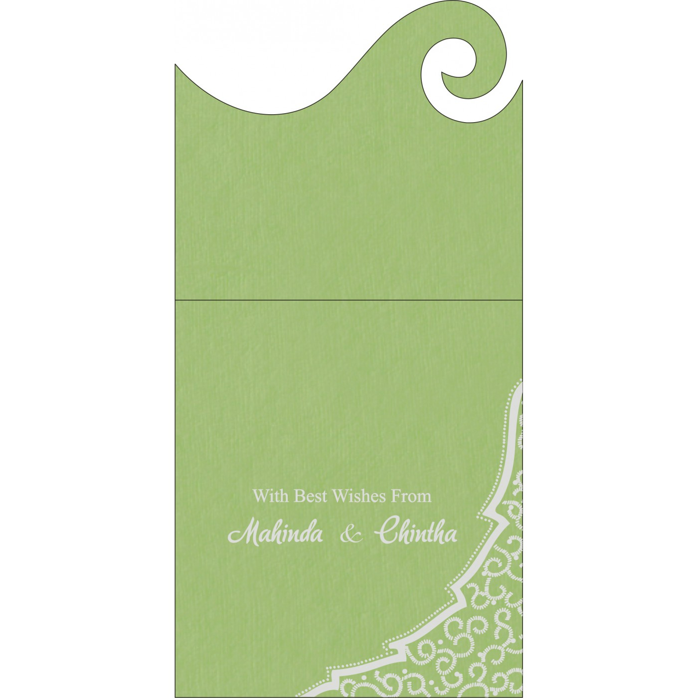 Money Envelopes : ME-8219J - 123WeddingCards