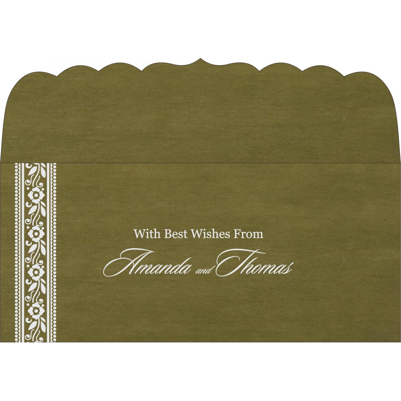 Money Envelopes : ME-8220Q - 123WeddingCards