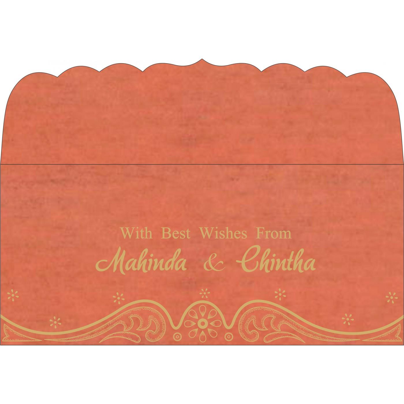 Money Envelopes : ME-8221L - 123WeddingCards
