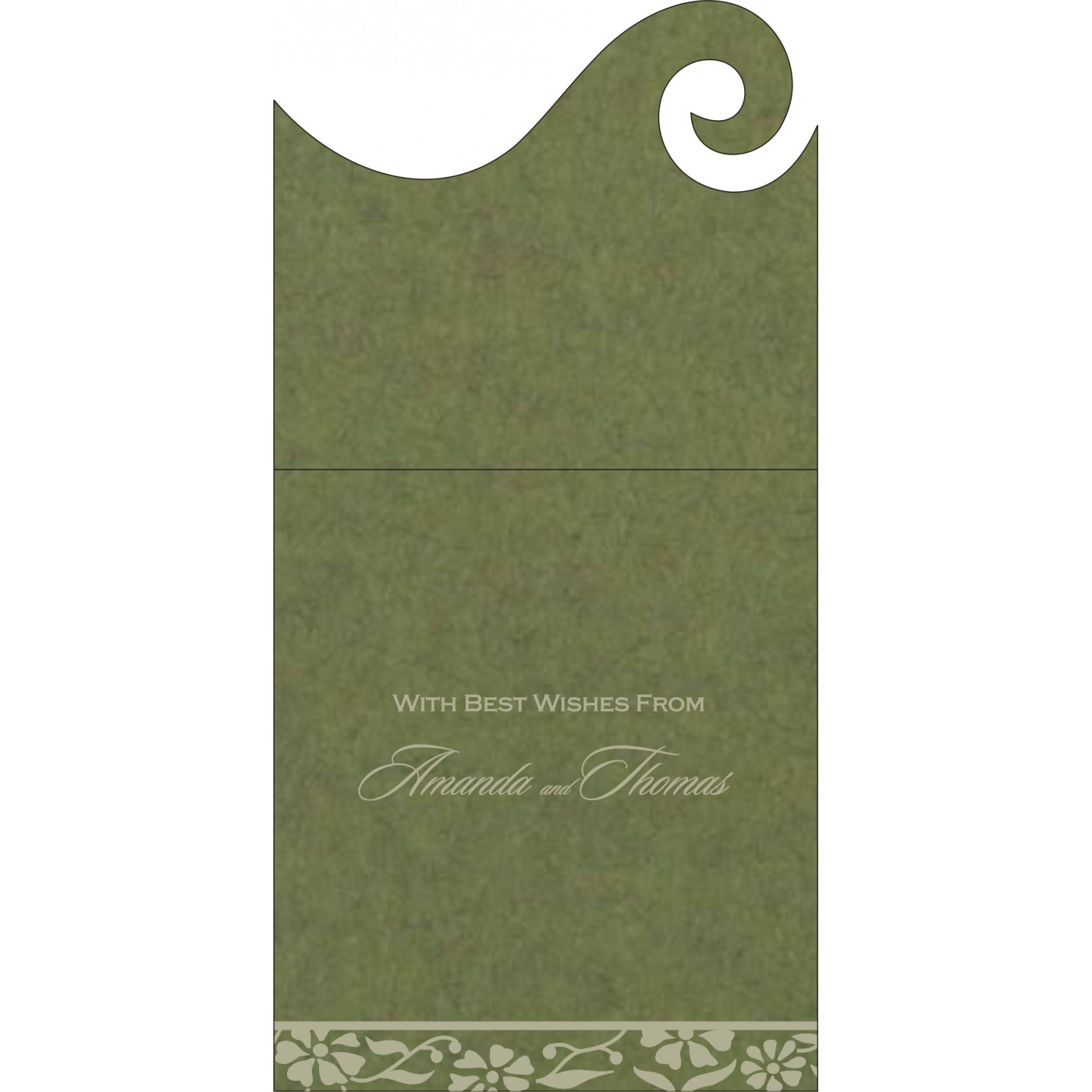 Money Envelopes : ME-8222D - 123WeddingCards
