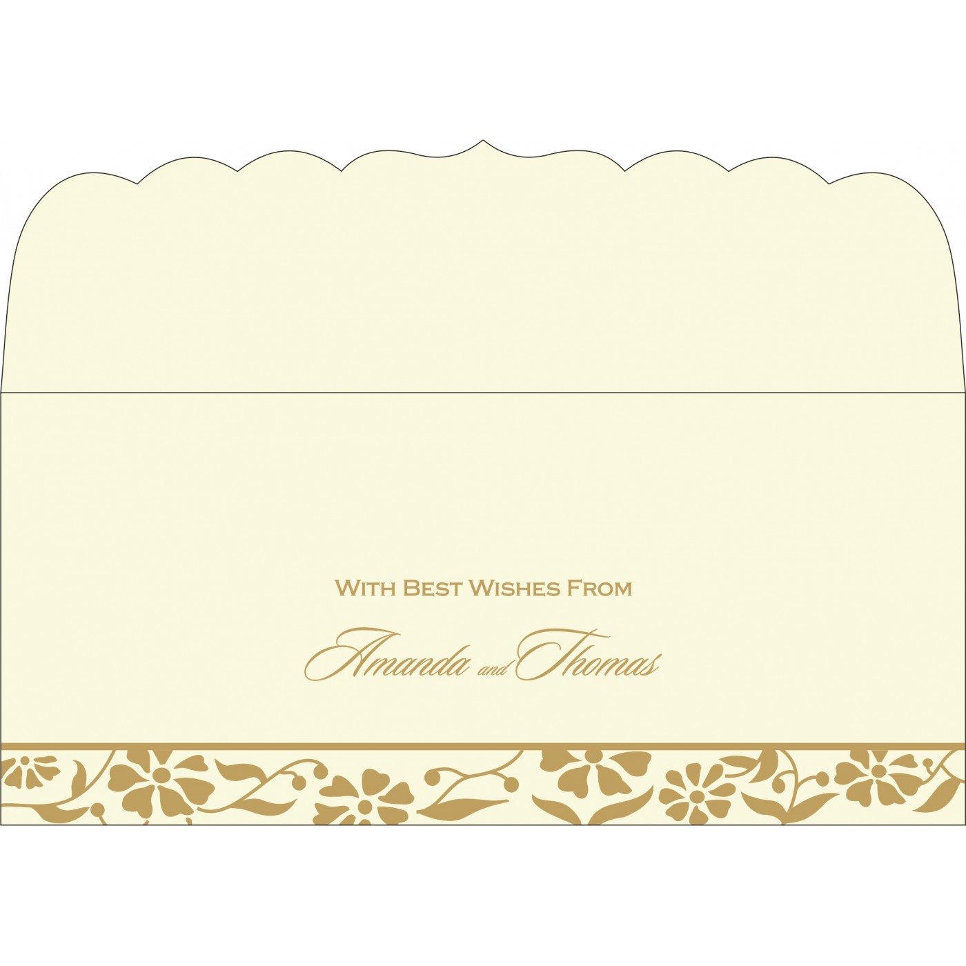 Money Envelopes : ME-8222I - 123WeddingCards