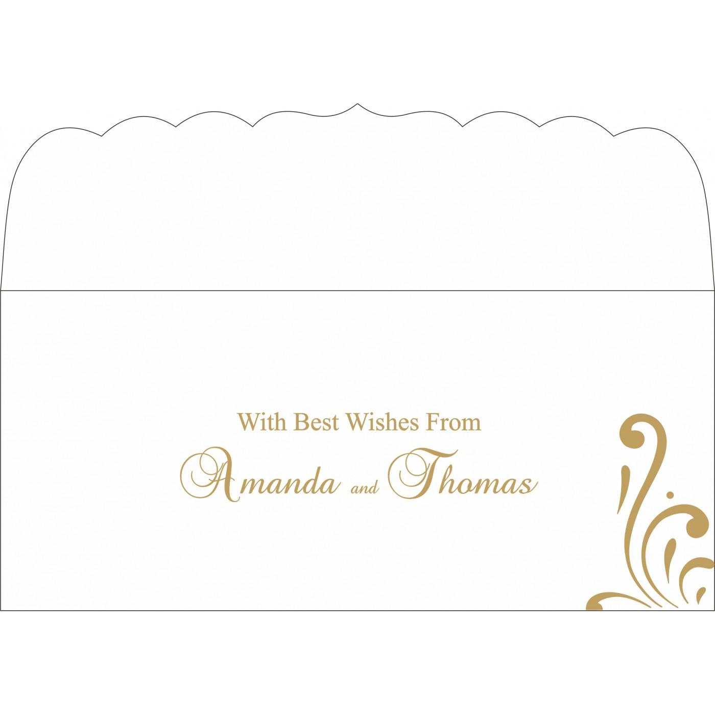 Money Envelopes : ME-8223D - 123WeddingCards