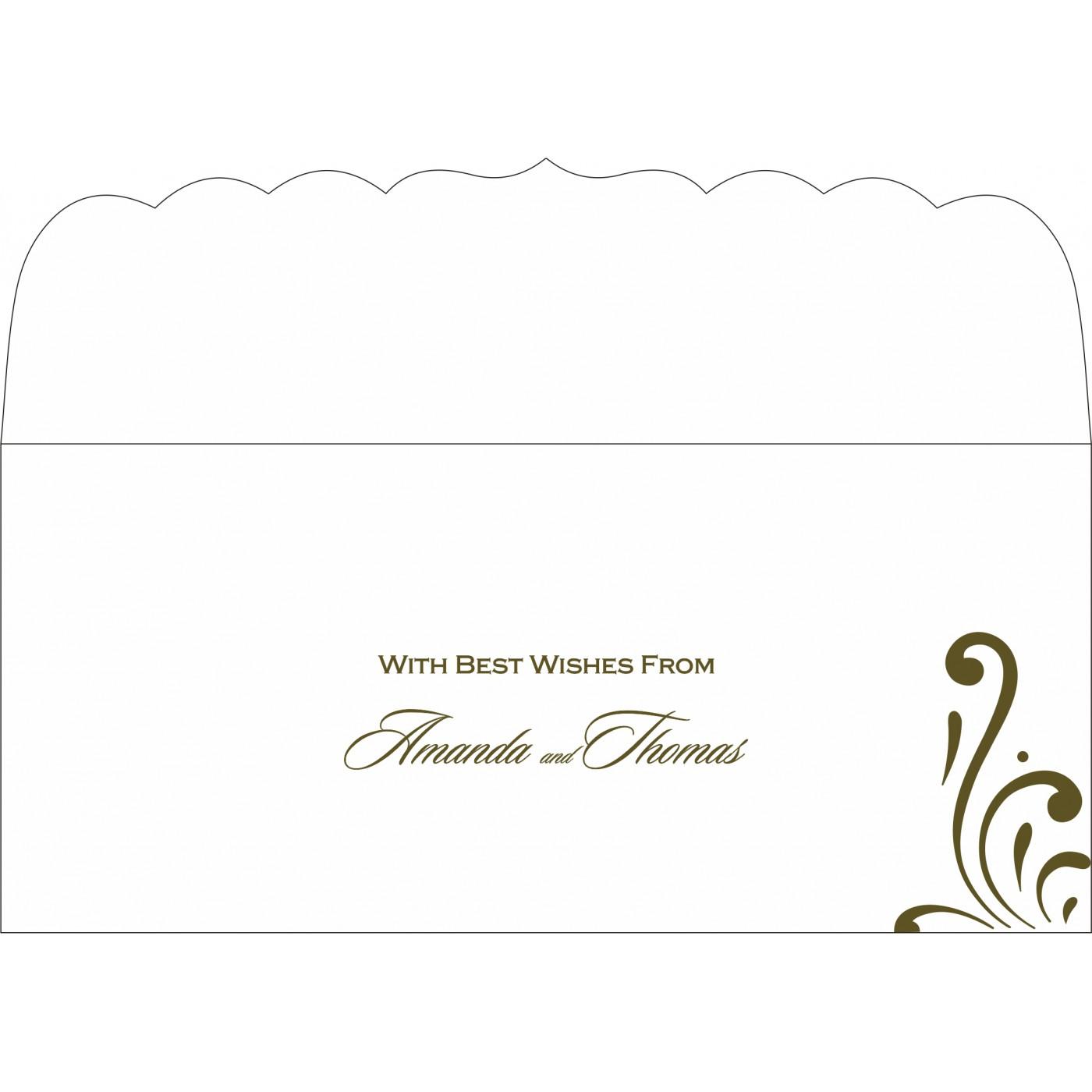 Money Envelopes : ME-8223I - 123WeddingCards