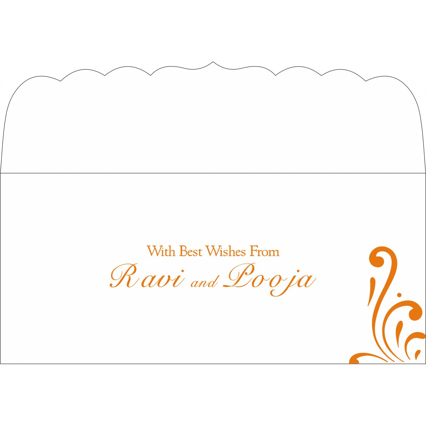 Money Envelopes : ME-8223K - 123WeddingCards