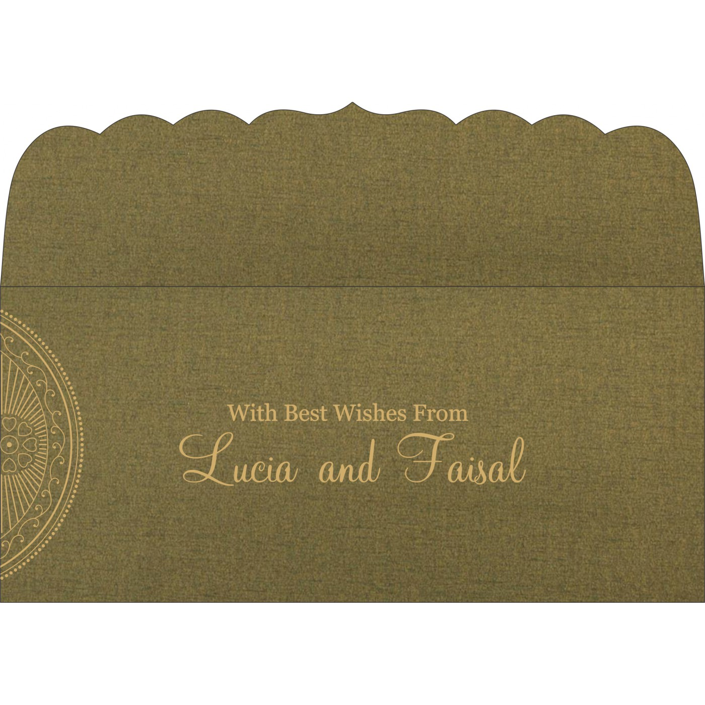 Money Envelopes : ME-8230L - 123WeddingCards