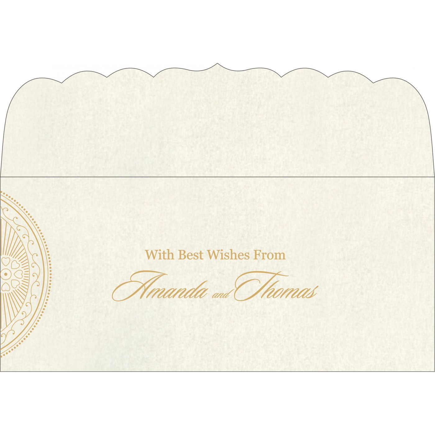 Money Envelopes : ME-8230O - 123WeddingCards