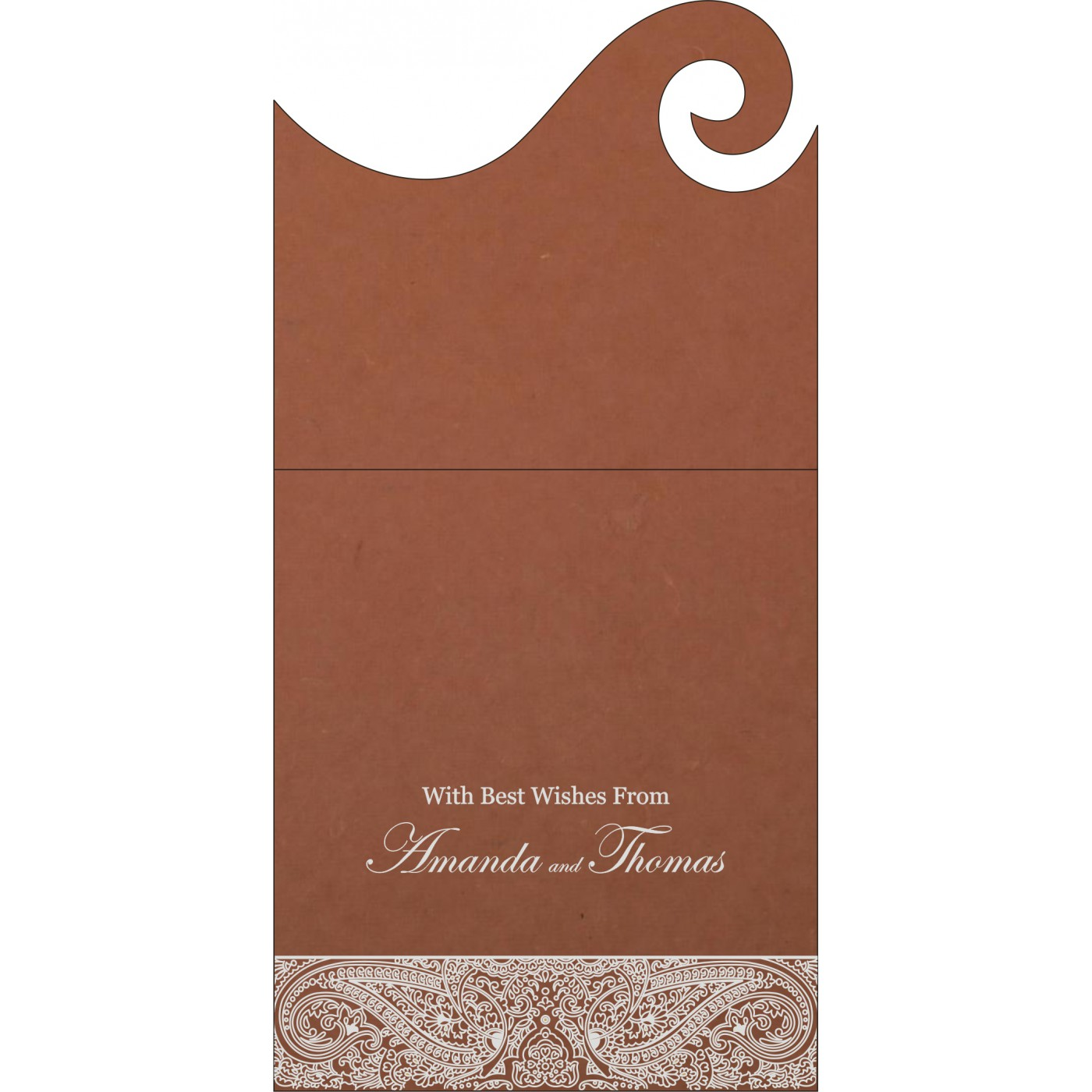 Money Envelopes : ME-8234F - 123WeddingCards