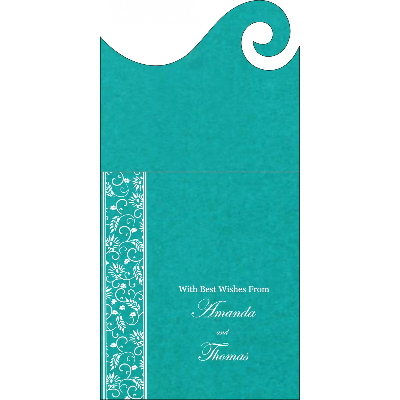 Money Envelopes : ME-8236J - 123WeddingCards