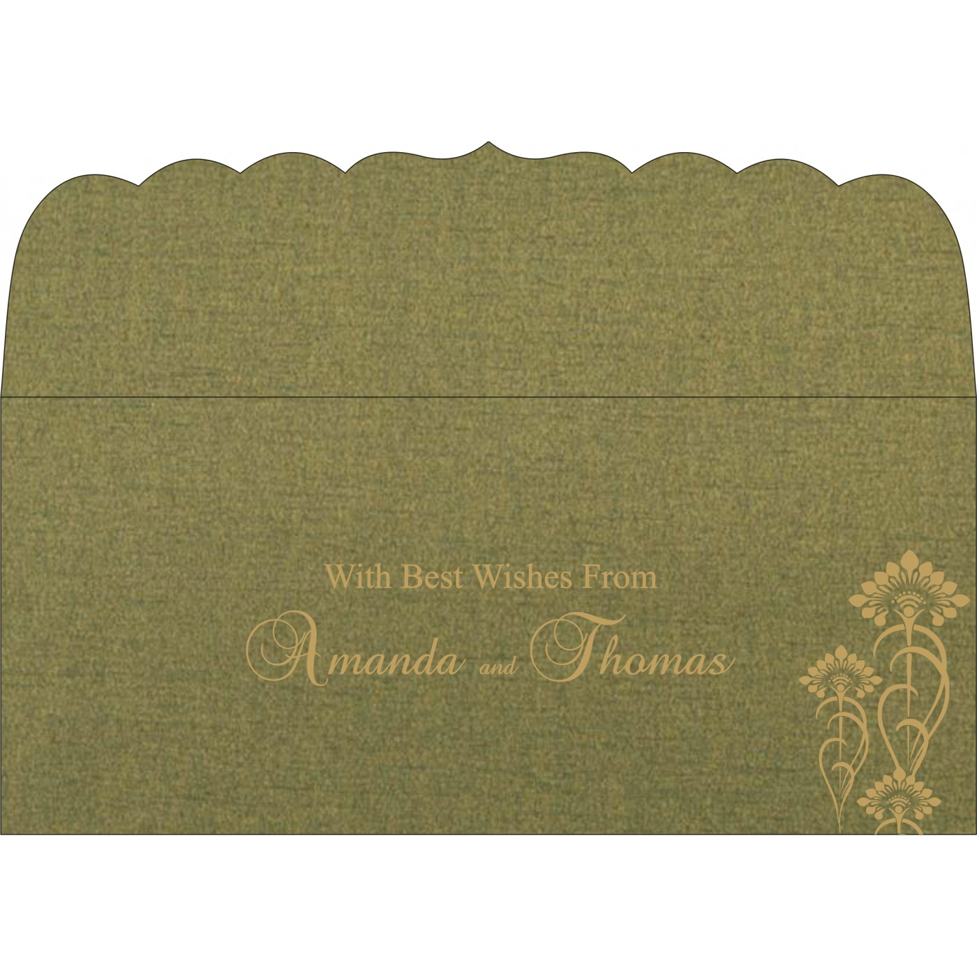 Money Envelopes : ME-8239F - 123WeddingCards