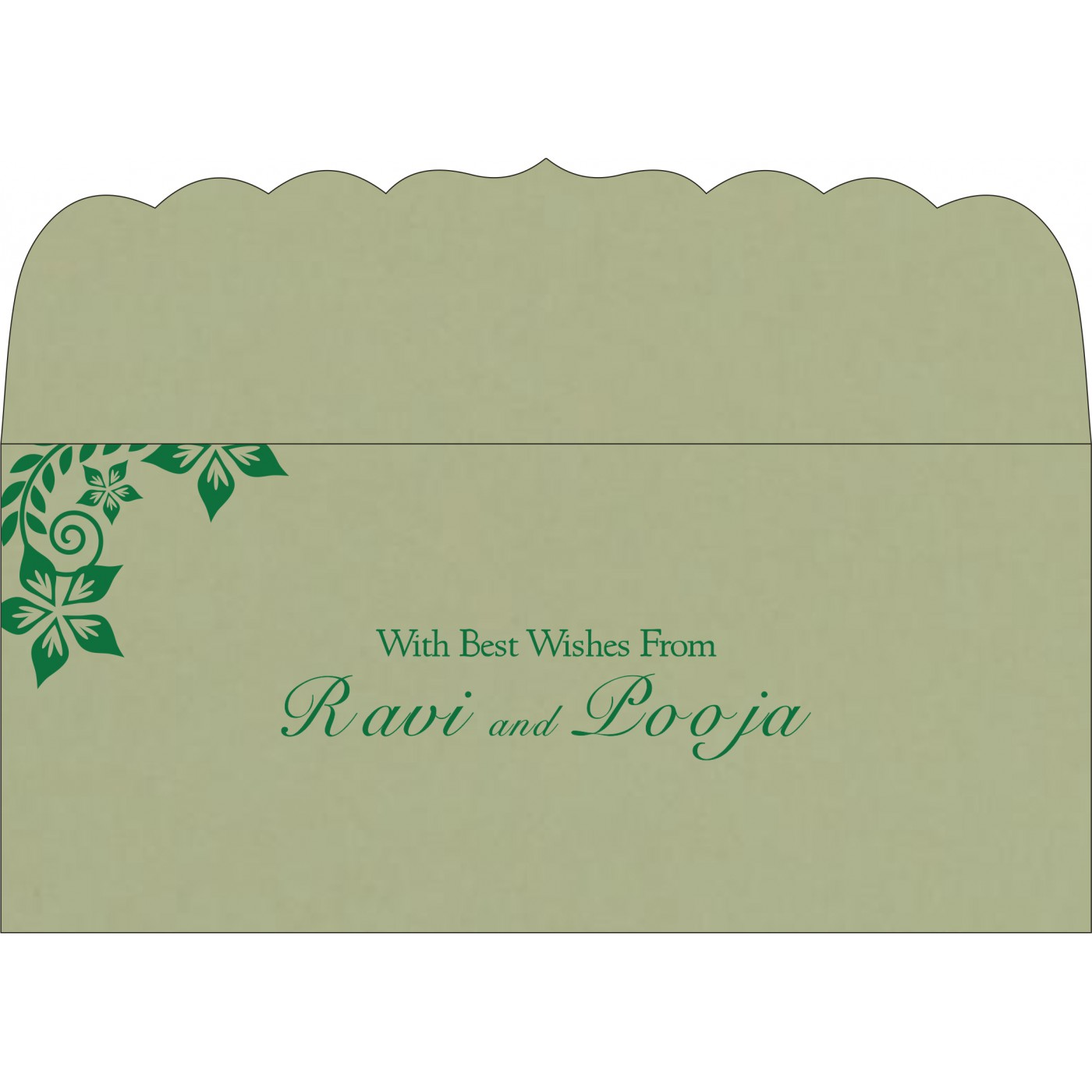 Money Envelopes : ME-8240I - 123WeddingCards