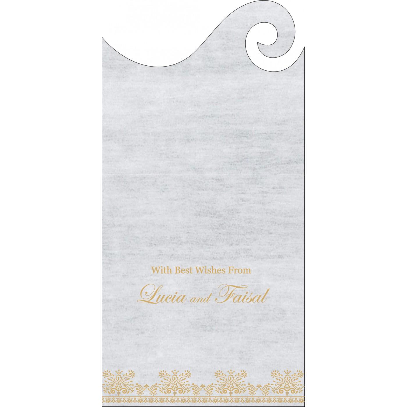 Money Envelopes : ME-8241A - 123WeddingCards