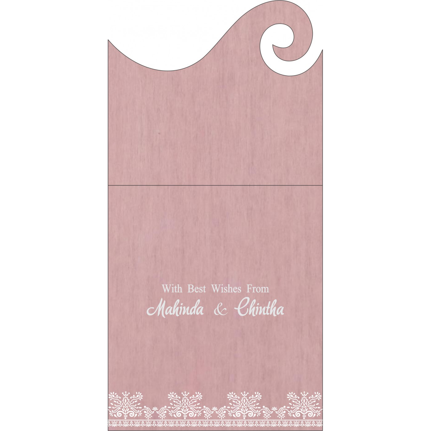 Money Envelopes : ME-8241E - 123WeddingCards
