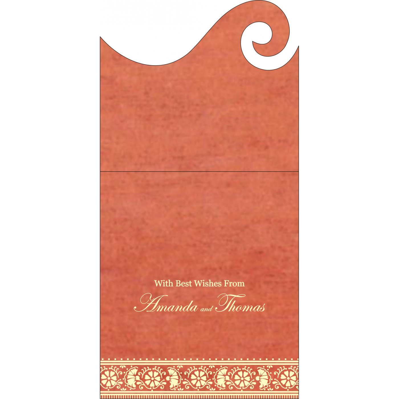 Money Envelopes : ME-8242I - 123WeddingCards