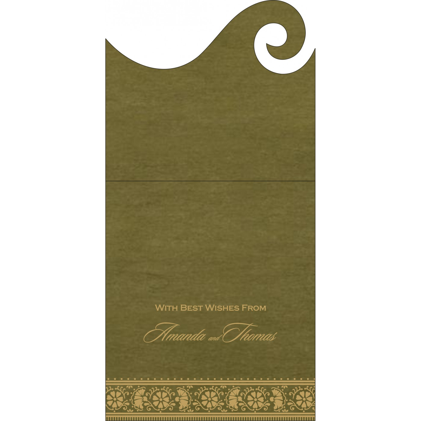 Money Envelopes : ME-8242O - 123WeddingCards