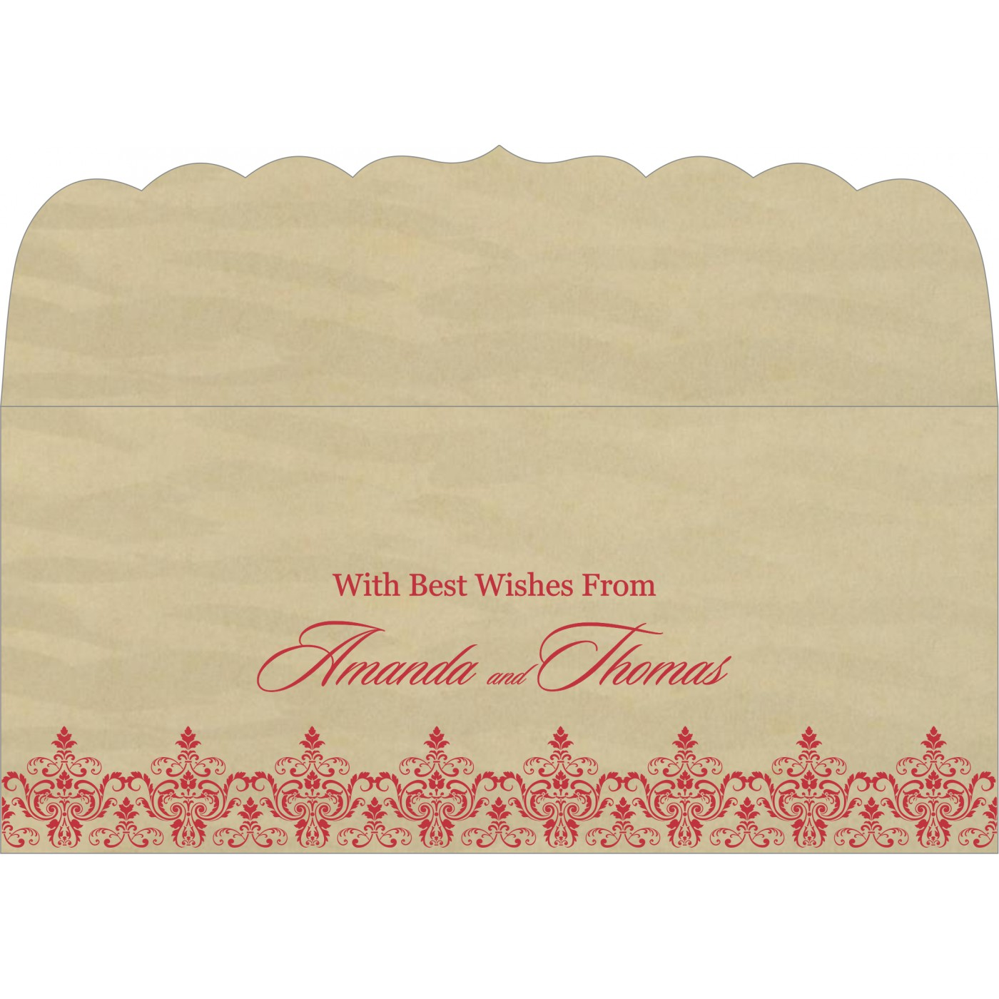 Money Envelopes : ME-8244J - 123WeddingCards