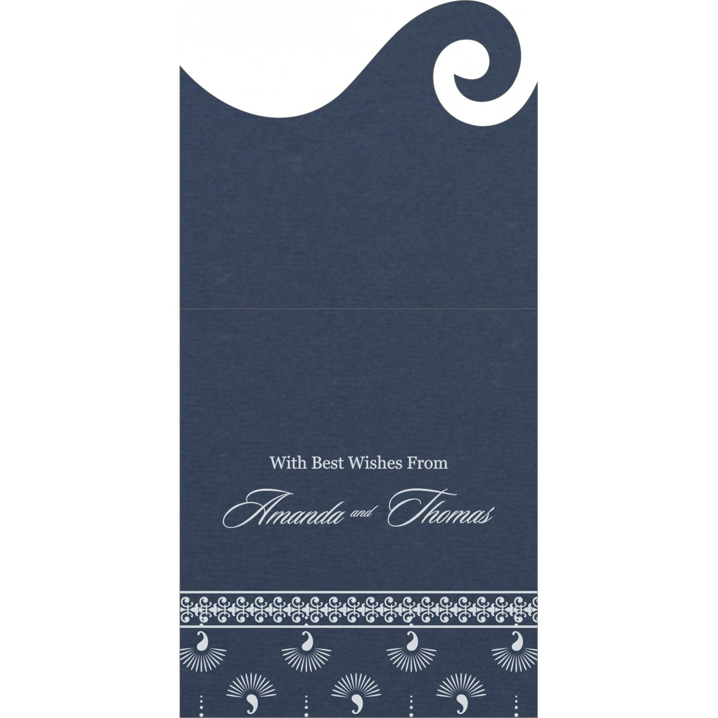 Money Envelopes : ME-8247G - 123WeddingCards