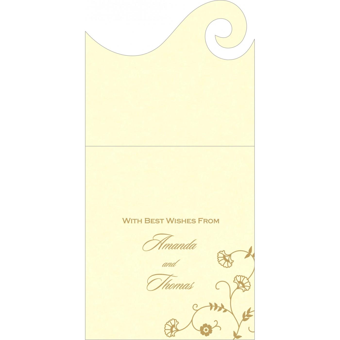 Money Envelopes : ME-8248B - 123WeddingCards
