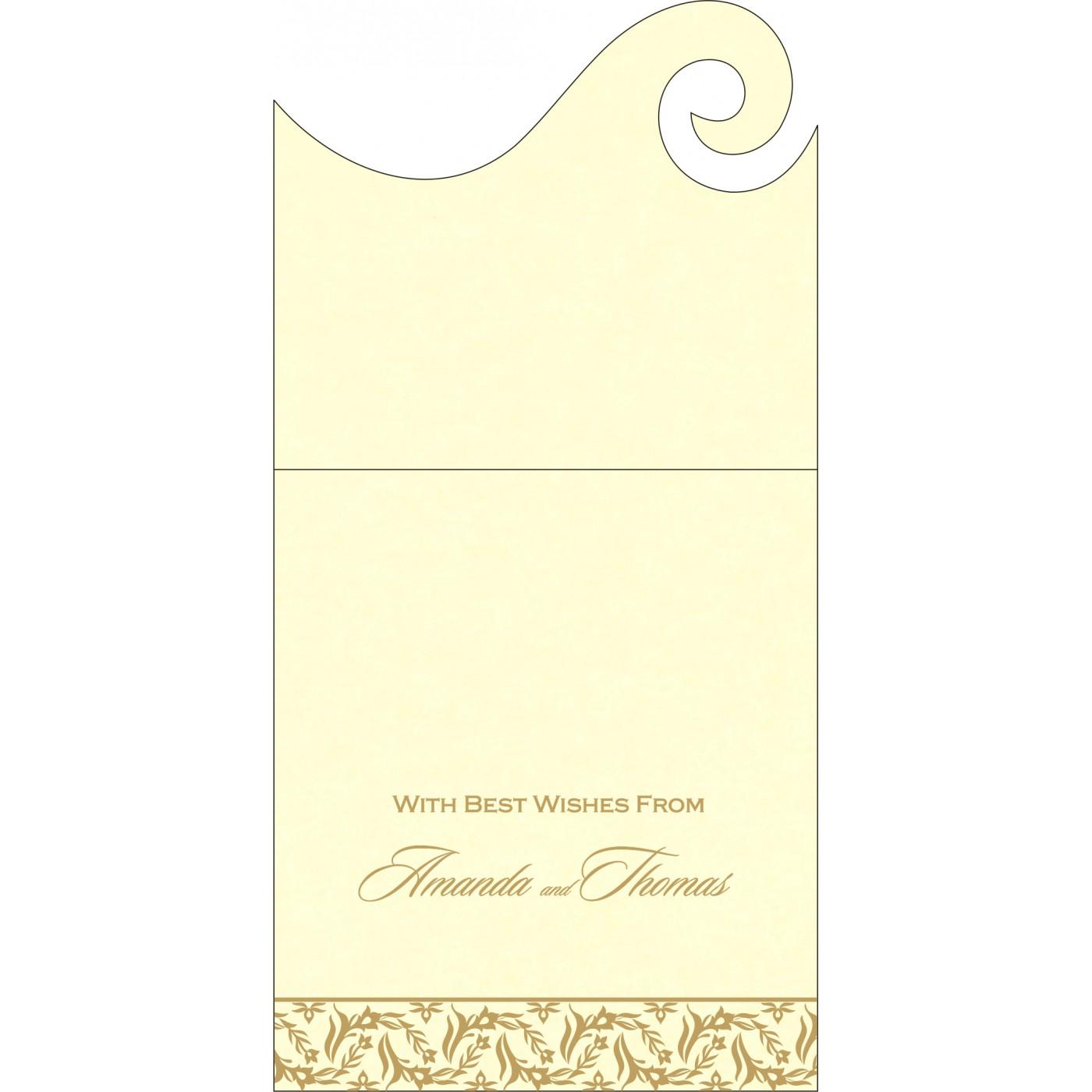 Money Envelopes : ME-8249B - 123WeddingCards