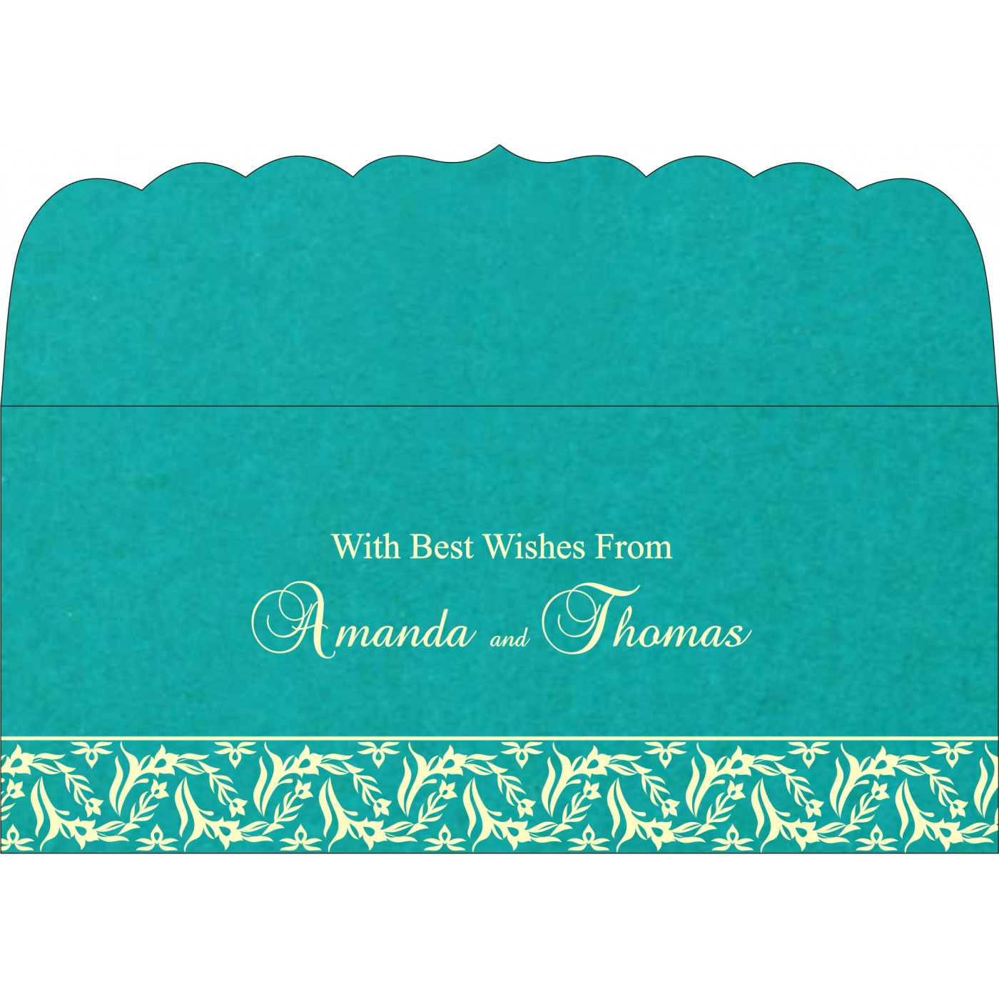 Money Envelopes : ME-8249D - 123WeddingCards