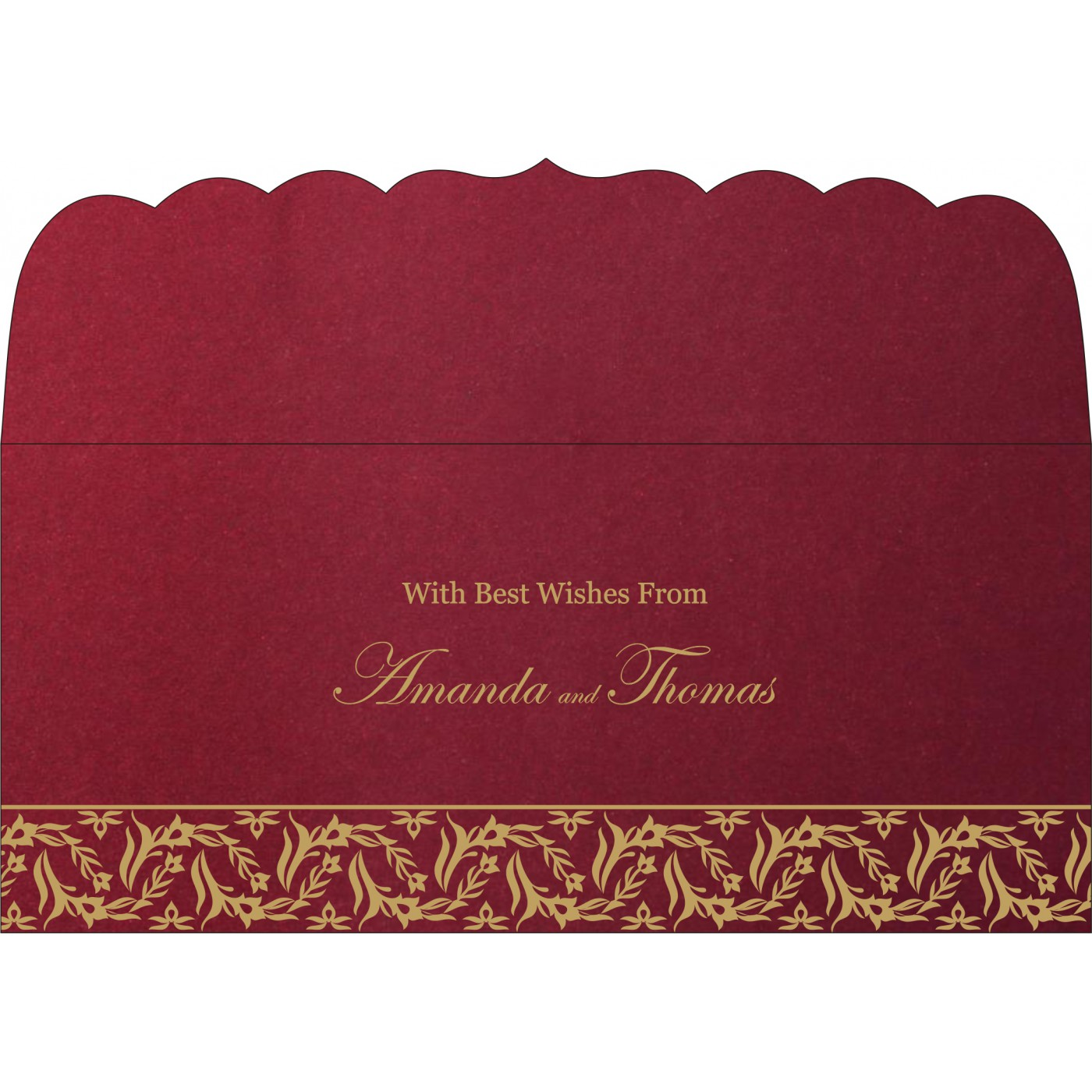 Money Envelopes : ME-8249L - 123WeddingCards