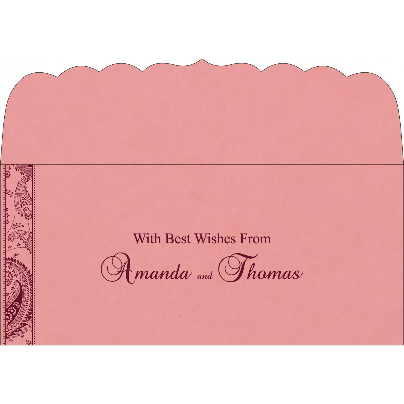 Money Envelopes : ME-8250F - 123WeddingCards