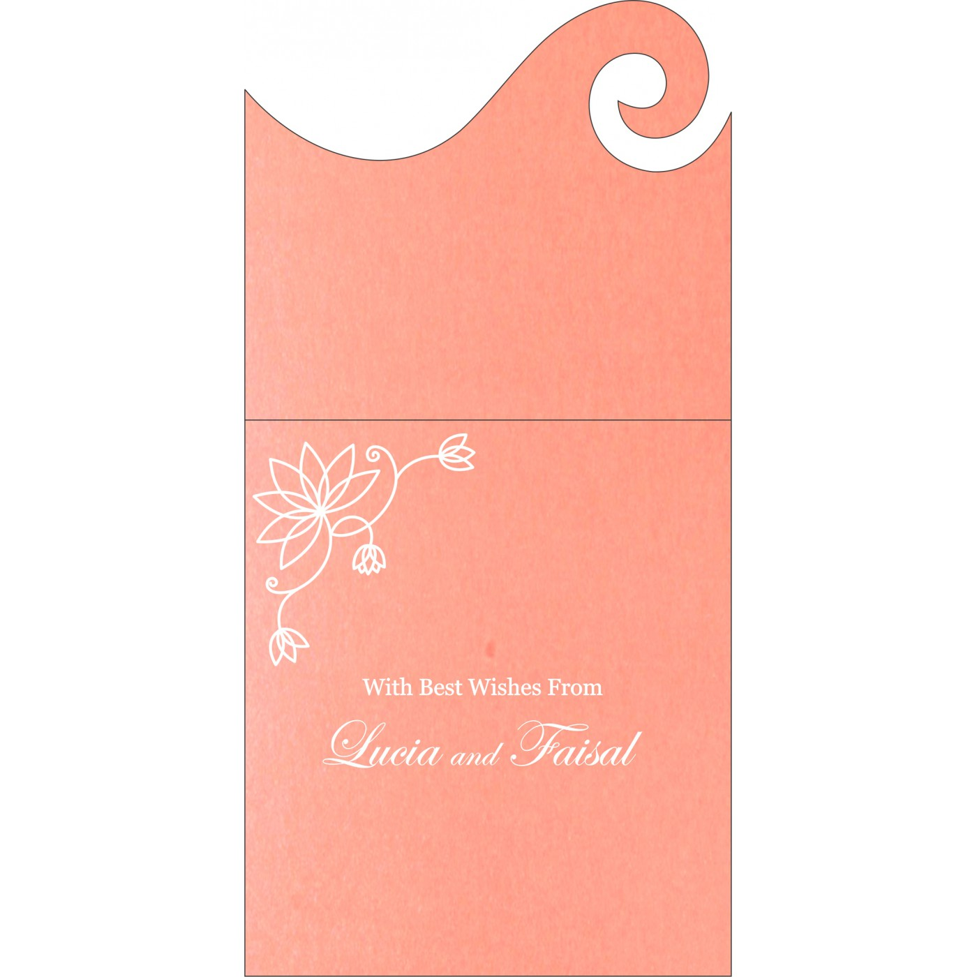 Money Envelopes : ME-8251I - 123WeddingCards