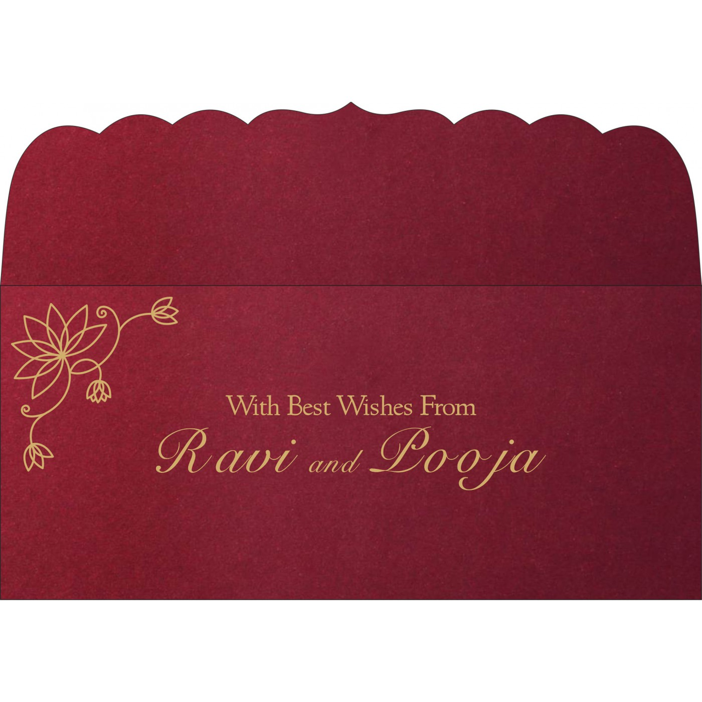 Money Envelopes : ME-8251L - 123WeddingCards