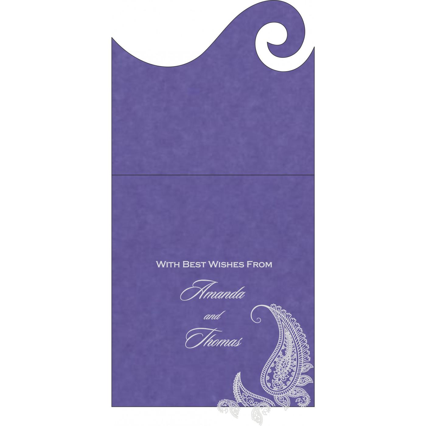 Money Envelopes : ME-8252B - 123WeddingCards