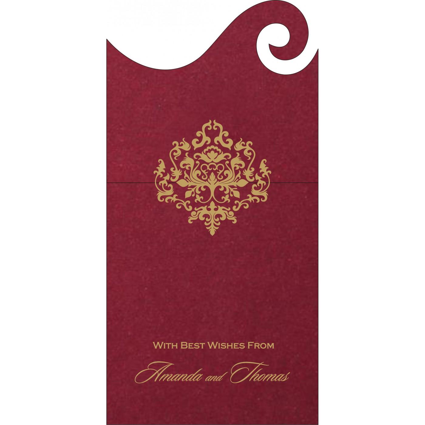 Money Envelopes : ME-8254B - 123WeddingCards