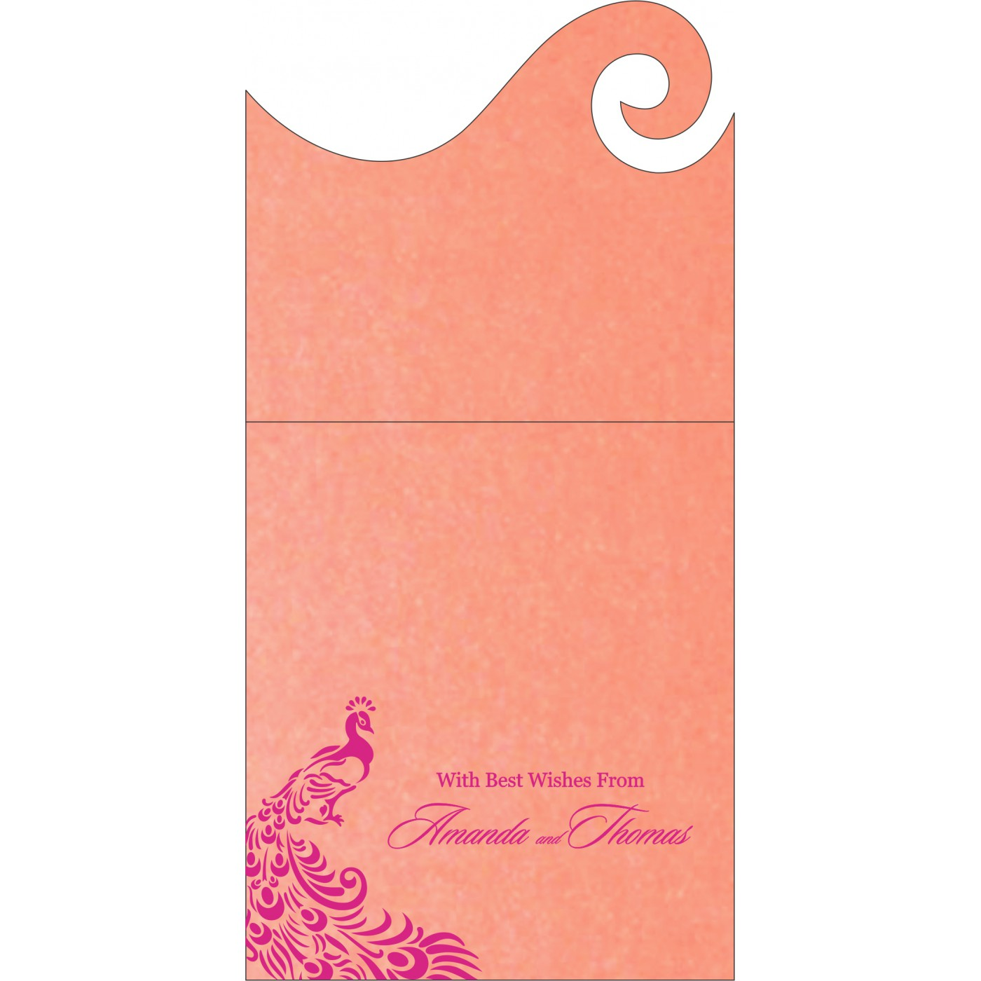Money Envelopes : ME-8255B - 123WeddingCards