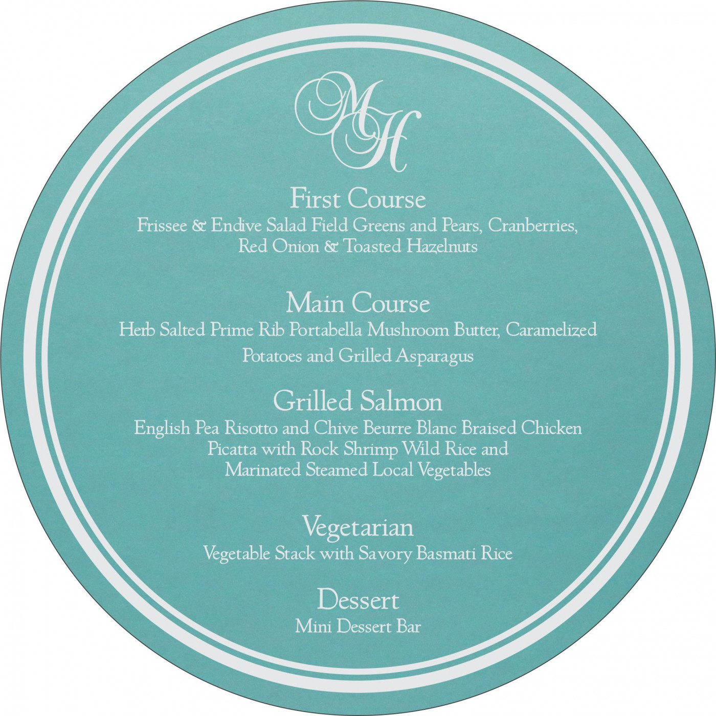 Menu Cards : MENU-1382 - 123WeddingCards