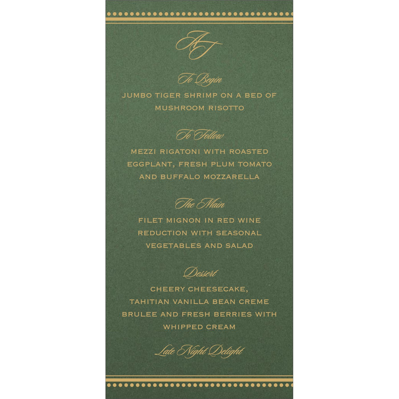 Menu Cards : MENU-1388 - 123WeddingCards