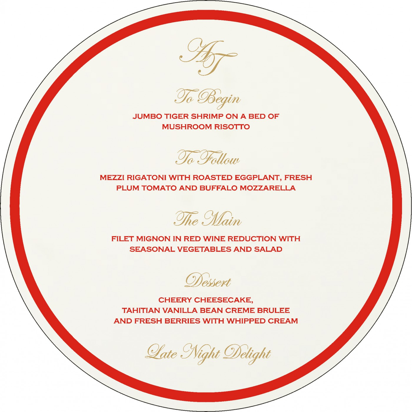 Menu Cards : MENU-8216L - 123WeddingCards