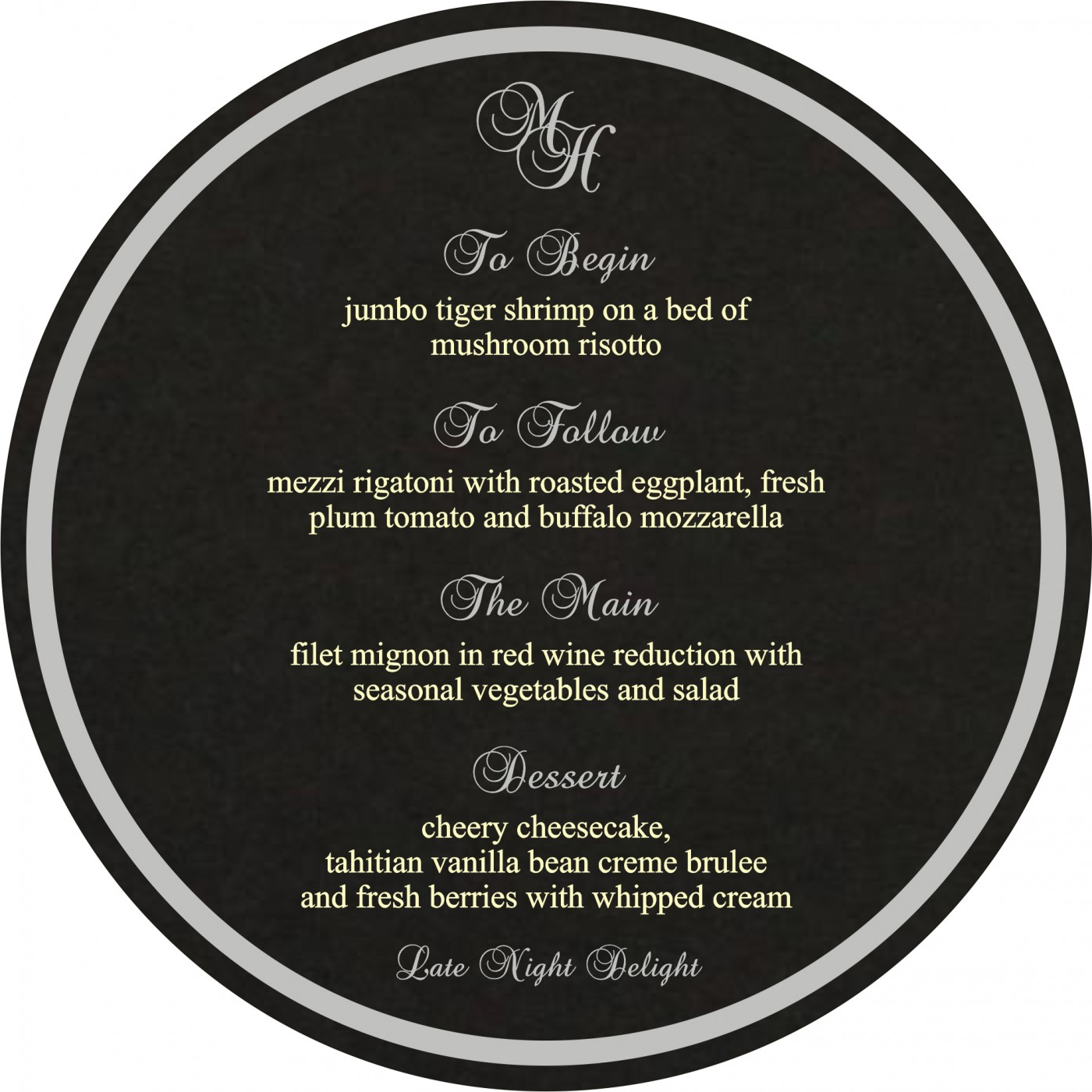 Menu Cards : MENU-8222J - 123WeddingCards